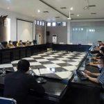 Rapat dengan pengelola mal di Karawang