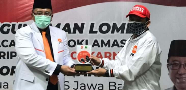 Ketua DPW PKS Jawa Barat, Dr. Haru Suandharu. Dede