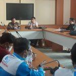 Audiensi dengan Ketua DPRD, Aliansi BBM Tegaskan Tuntutan Copot Kadisnaker